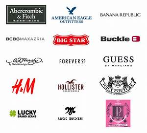Fashion Brands Logo With Names | www.imgkid.com - The ...