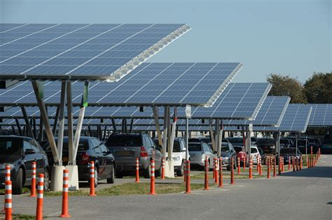 4 Mw Solar Carports For Weeze Airport Opened  Sun & Wind