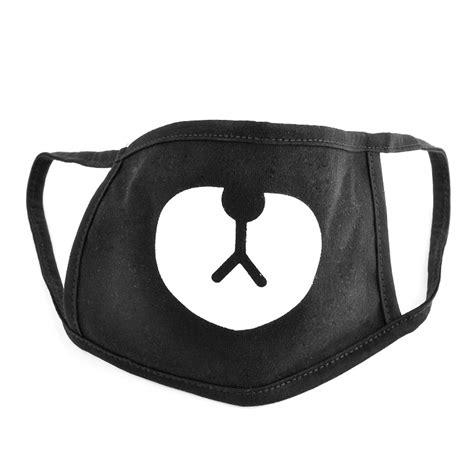 Ayo and Teo Face Mask panda bape mask free shipping bear