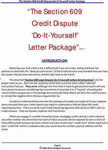 Credit dispute letters section 609 fcra credit dispute for Section 609 credit repair
