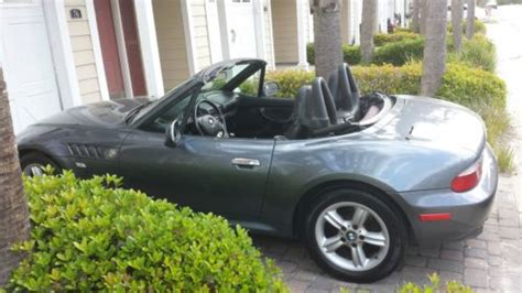 Buy Used 2000 Bmw Z3 Roadster 2.3 Gray Convertible