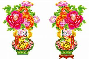Chinese clipart chinese flower - Pencil and in color ...