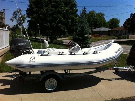 Zodiac Boats For Sale In Ontario by Zodiac Yachtline 380 Dl 2001 Used Boat For Sale In