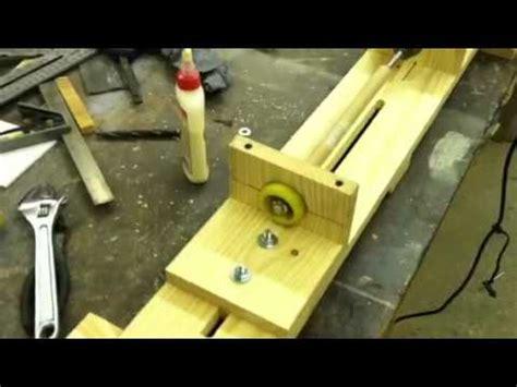 homemade wood lathe  youtube