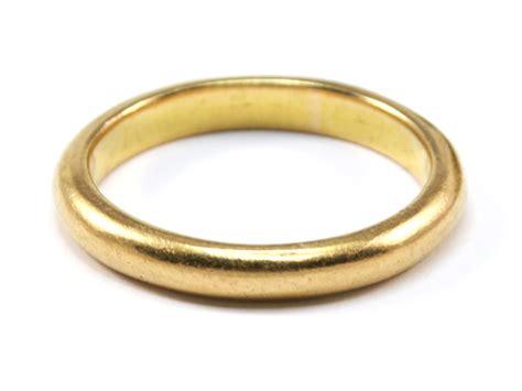 wedding rings 22 carat gold 22 carat gold wedding ring 7 2g london 1935 ebay