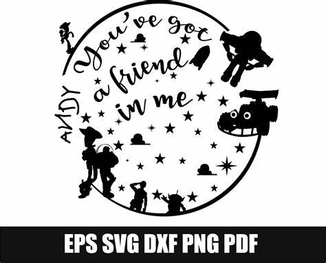 Free box svg files, free card svg files. Library of toy story svg black and white download for ...