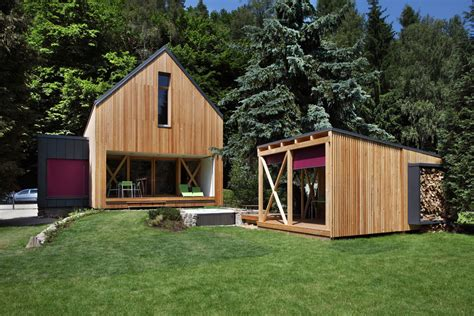 Small Wooden Cottage by A Contemporary Wooden Cottage By Prodesi Small House Bliss