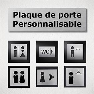 Plaques De Portes : plaque de porte personnalis e pour wc bureau salle de ~ Melissatoandfro.com Idées de Décoration