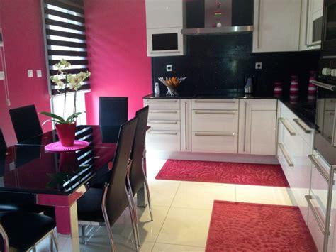 cuisine blanc et noyer cuisine blanc et noir photo 1 14 3504375