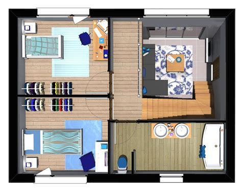 plan 3d cuisine gratuit plan maison 85m2 3 chambres gratuit plan n 35 univia
