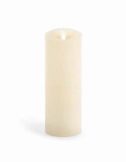 Flameless Ivory Candle 3x8 Pillar Wax Inch