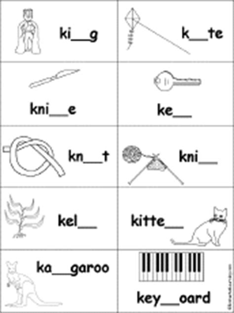 letter k alphabet activities at enchantedlearning 204 | ktiny
