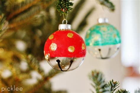 Anthro-inspired Jingle Bell Ornaments + A Giveaway! Kitchen Cabinet Door Designs Pictures Perth Knobs For Cabinets Stainless Steel Brown Painted Photos White Classic Mixed