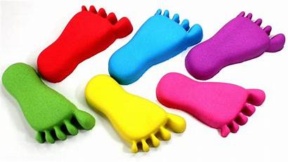 Toys Feet Bunchems Nails Sand