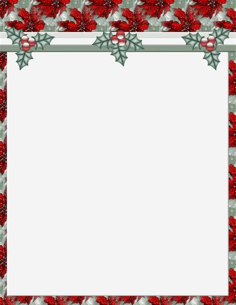 christmas templates for 2 free stationery template downloads