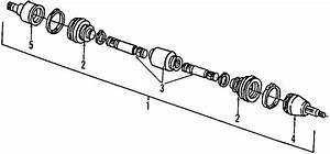 Ford Taurus Cv Axle Assembly  Right  Axles  Drive