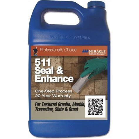 miracle sealants 16 oz seal and enhance 1 step