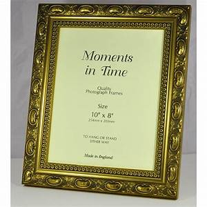 CH3 QUALIY WOOD FRAME IN DECORATIVE GOLD (Packs of 4 ...