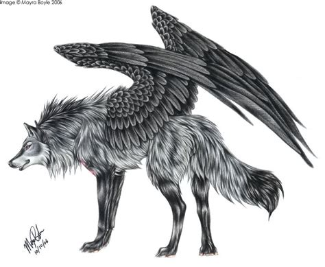 Halfway To The Sky *wolf And Winged Wolf Rp*