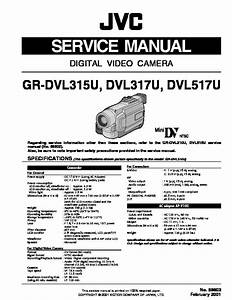 Schematic Diagram Manual Jvc Gr D22us Digital Video Camera