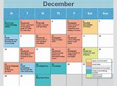 Social Media Calendar Ideas task list templates