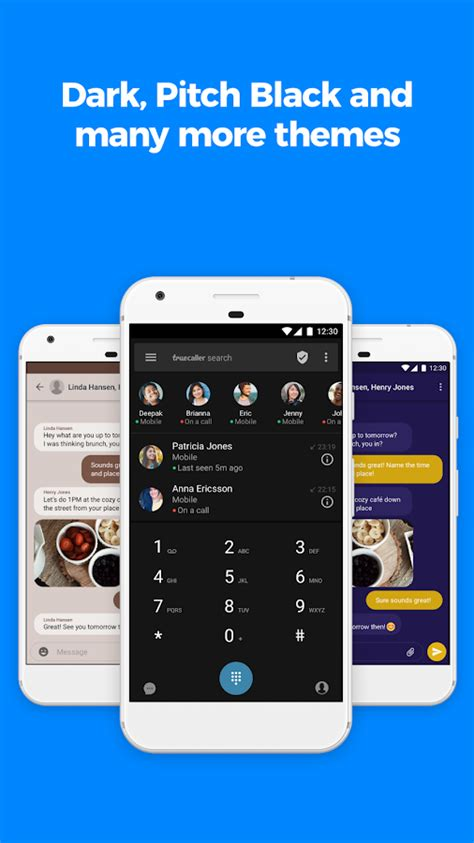 truecaller caller id sms spam blocking dialer android apps on play
