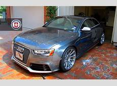 2013 Audi RS5 on HRE Wheels Takes a Shower autoevolution