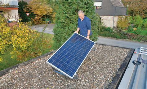 Heizung Für Garage Selber Bauen by Solarmodul Selbst Montieren Solar Energie Nutzen Selbst De