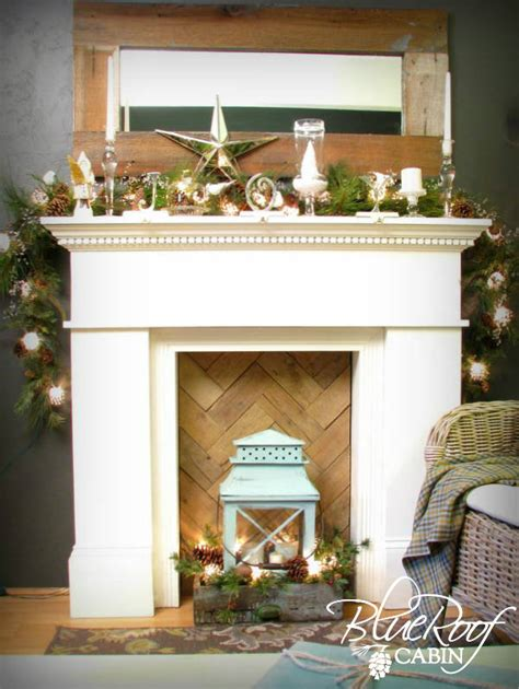hometalk faux fireplace pallet wood fire box