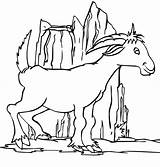 Goat Coloring Dairy Funny Clipart Goats Categories sketch template