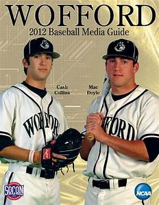 2012 Wofford Baseball Media Guide by Wofford Athletics - Issuu