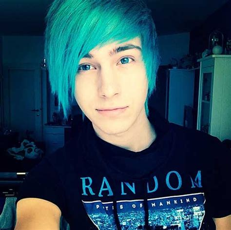 Blue Hair Name by 15 New With Blue Hair Mens Hairstyles 2018