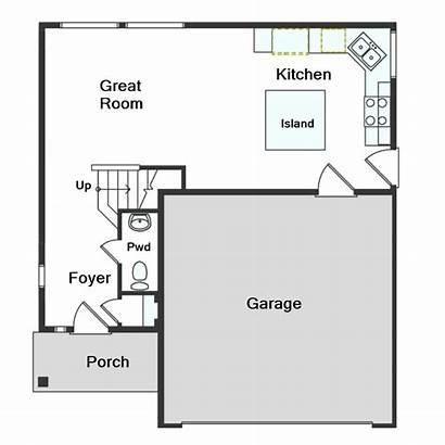 Floor Homes Plan Randem Plans Utah