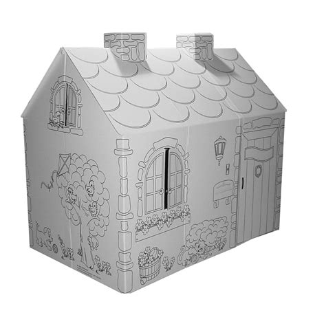 cottage playhouse color your own princess cottage playhouse