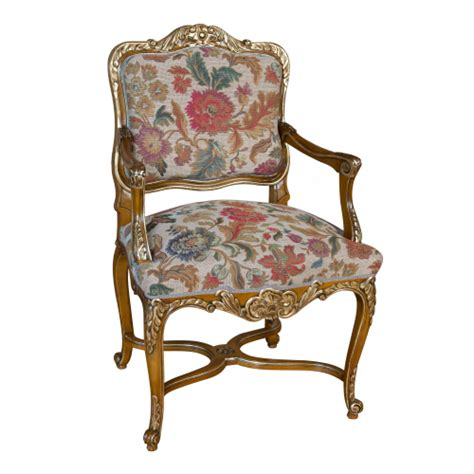Chaise Style Louis Xiv