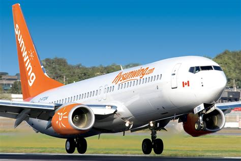 Paxnews Sunwing Announces  Domestic Flight Schedule