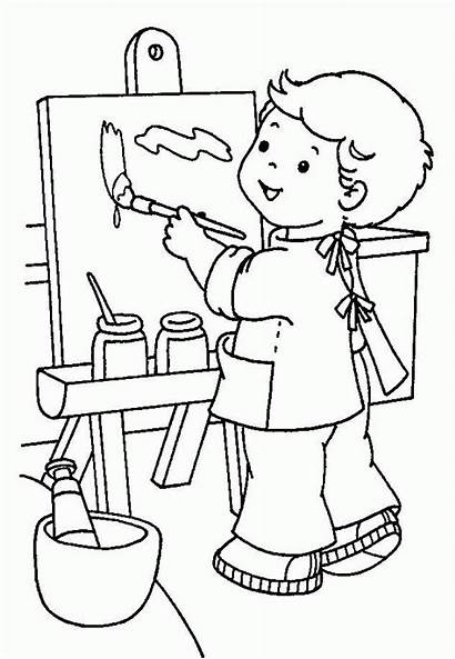 Coloring Kindergarten Paint Colouring Painting Adults Splatter