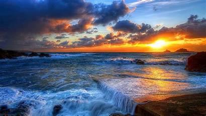 Sunset Summer Wallpapers Desktop Stunning Nature 3d