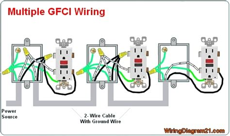 Wiring Gfci Outlet In Series by House Electrical Wiring Diagram
