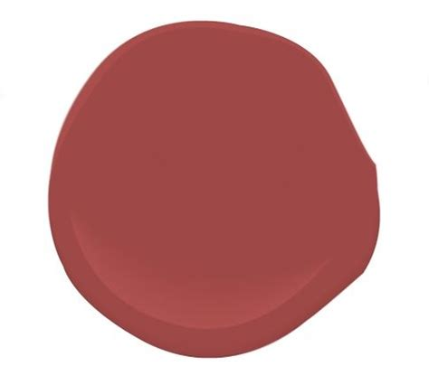 "Benjamin Moore - Maple Leaf Red Or as I prefer ""Nantucket"
