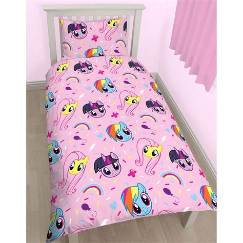 my pony comforter my pony equestria single duvet cover set