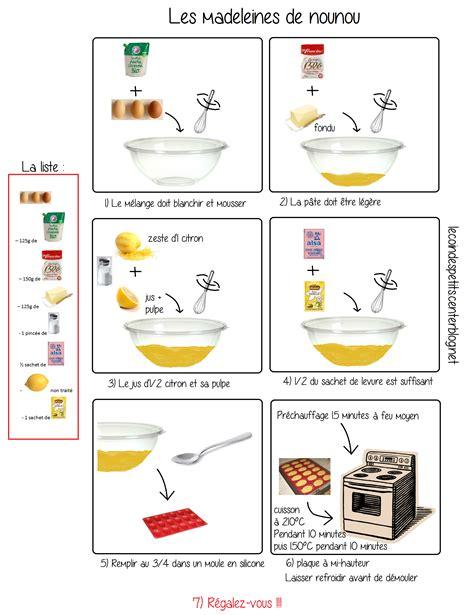 cuisiner les marrons en boite recette illustrée de madeleines au citron façon quot nounou quot