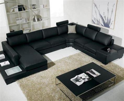 black living room furniture sets modern house