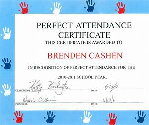 Perfect Attendance Certificate Template Certificate Of Attendance Sample Template Choice Image Certificate Design And Template