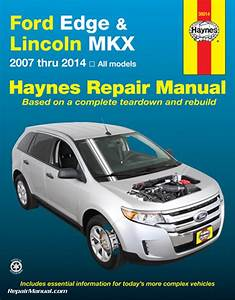 Ford Edge Lincoln Mkx Haynes Repair Manual 2007