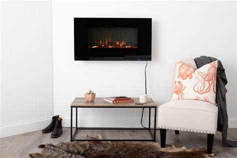 wall mount electric fireplace  traveled living