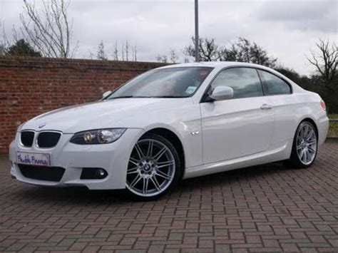 bmw   sport highline coupe  white  sale