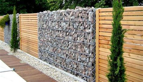 cheap wooden fencing panels beautiful fence designs blending various materials for