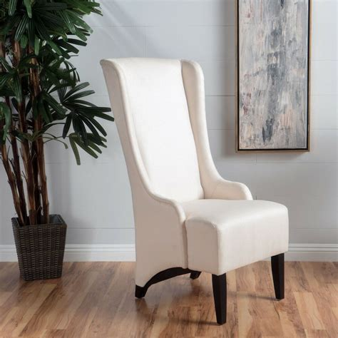 sheldon traditional design high  fabric dining chair