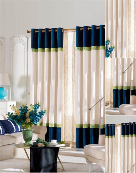best chenille fabric curtains design for living room
